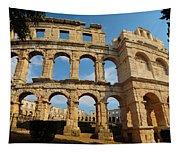 Pula, Istria County, Croatia. The Roman Tapestry