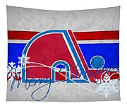 Quebec Nordiques Tapestry