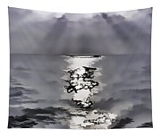 Rays Of Light Shimering Over The Waters Tapestry