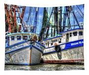 Shrimp Boats Season Tapestry