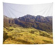 Slope Of Hills In The Scottish Highlands Tapestry