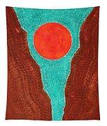 Slot Canyon Original Painting Tapestry