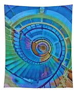Stairway To Lighthouse Heaven Tapestry