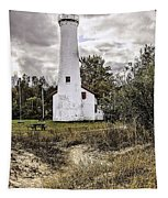 Sturgeon Point Lighthouse Tapestry