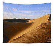 Sunrise At Oceano Sand Dunes Tapestry