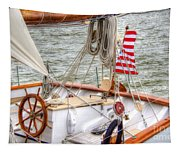 At The Helm Tapestry