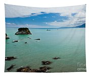 Tasman Sea At West Coast Of South Island Of Nz Tapestry