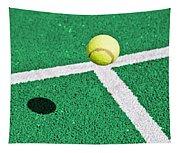 Tennis Ball Tapestry