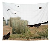 Turkey Vultures Tapestry