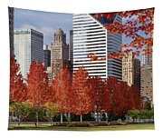 Usa, Illinois, Chicago, Millennium Tapestry