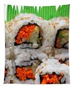 Vegetable Sushi Tapestry