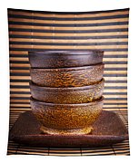 Wooden Bowls Tapestry
