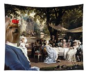 Yorkshire Terrier Art Canvas Print Tapestry