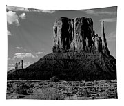 Rock Formations On A Landscape Tapestry