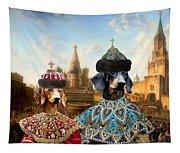 Dachshund Art Canvas Print Tapestry