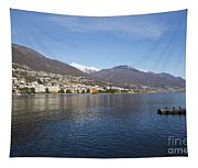 Alpine Lake Tapestry