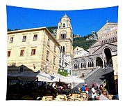 Views From The Amalfi Coast In Italy Tapestry