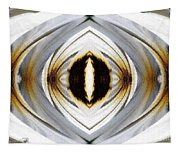 African Moon Abstract Tapestry