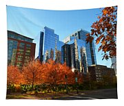 Autumn In Boston Tapestry