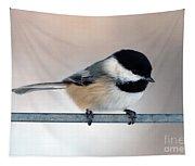Chickadee Tapestry