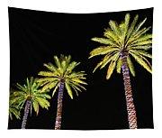 4 Christmas Palms Tapestry
