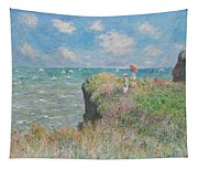 Cliff Walk At Pourville Tapestry