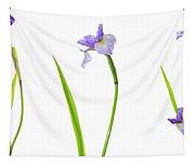 Close-up Of Blue Flag Iris Iris Tapestry