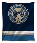 Columbus Blue Jackets Uniform Tapestry