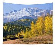 Crystal Lake On Pikes Peak Tapestry