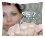 Diamond Ring Tapestry