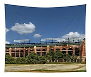 Home Of The Texas Rangers Tapestry
