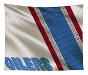 Houston Oilers Uniform Tapestry