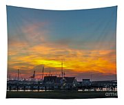 Harbor Lowcountry Sunset Tapestry