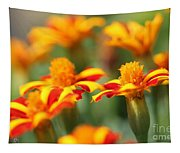 Novelty French Marigold Named Mr. Majestic Tapestry