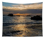 Sunset At Pismo Beach Tapestry