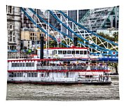 The Dixie Queen Paddle Steamer Tapestry