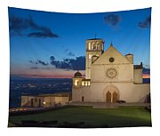 The Papal Basilica Of St. Francis Of Assisi  Tapestry