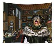 Tibetan Terrier Art Canvas Print Tapestry