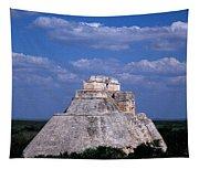 Uxmal Ruins Tapestry