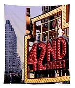 42nd Street New York City Tapestry