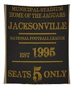 Jacksonville Jaguars Tapestry