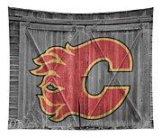 Calgary Flames Tapestry