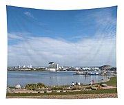 Cardiff Bay Panorama Tapestry