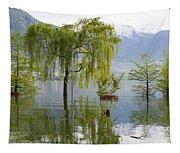 Flooding Alpine Lake Tapestry