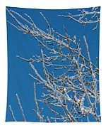 Ice Storm Poplars Tapestry
