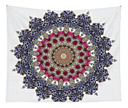 Kaleidoscope Colorful Jeweled Rhinestones Tapestry