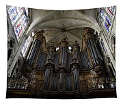 St. Severin Church In Paris France Tapestry