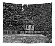 5 Star Barn Bw Tapestry