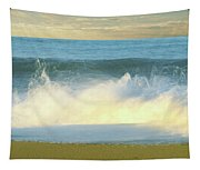 Waves Breaking On The Beach, Playa La Tapestry