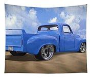 56 Studebaker Truck Tapestry